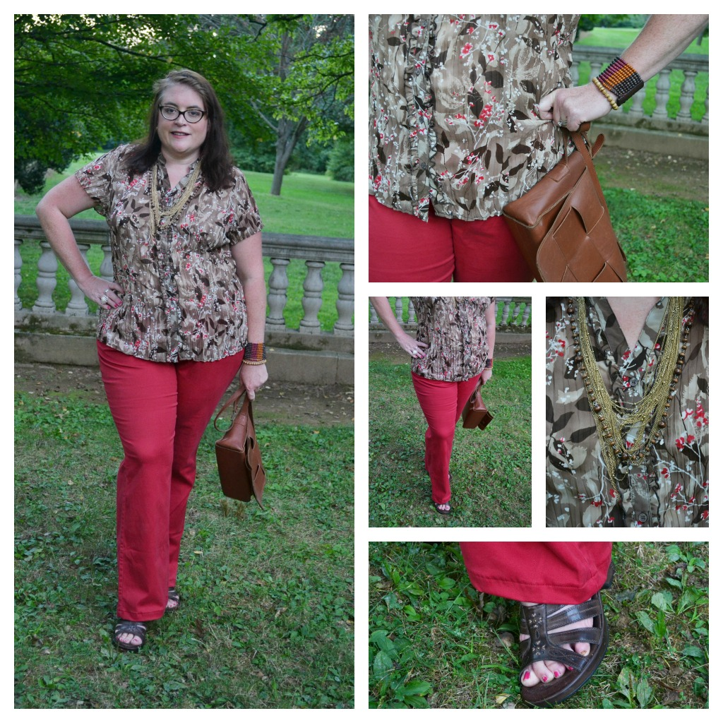 5b91d0c3fa2 What to wear Plus Size Red Pants Fashion 2012 - BigGirlsGuide