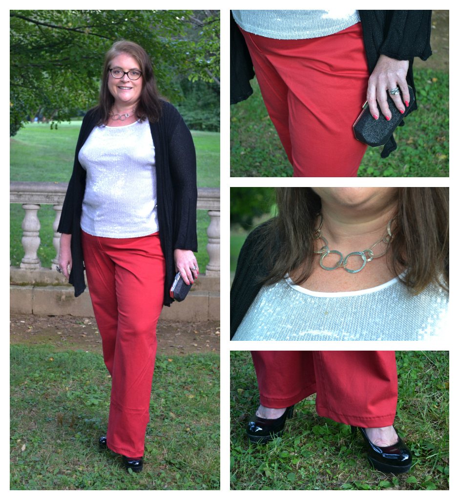 4bedae6a2 What to wear Plus Size Red Pants Fashion 2012 - BigGirlsGuide