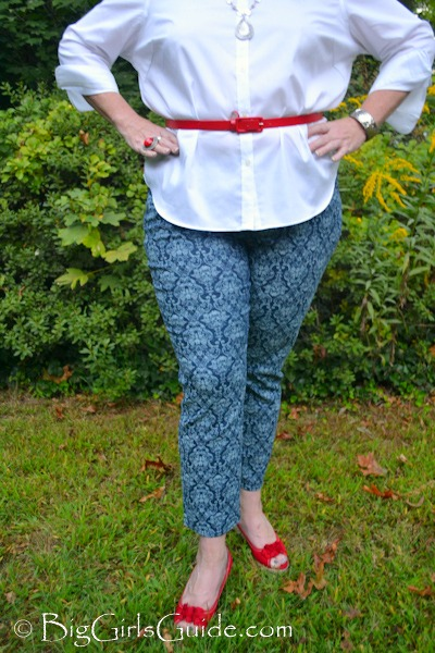 Plus Size Fashion: How to wear Plus Size Printed Jeans - BigGirlsGuide