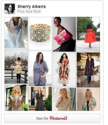 plus size fashion pintrest board