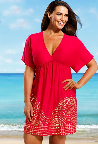30 great plus size swim cover ups biggirlsguide