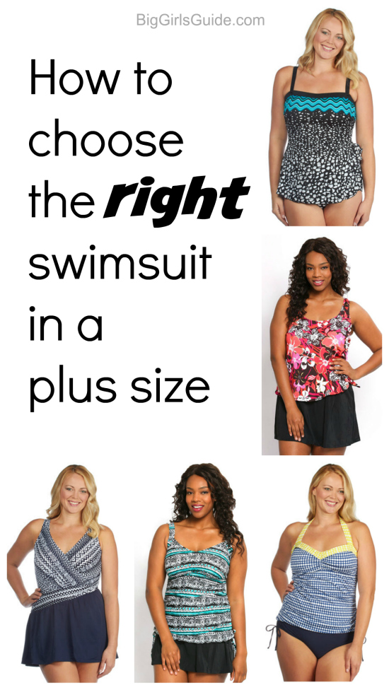 Choose the right swimsuit