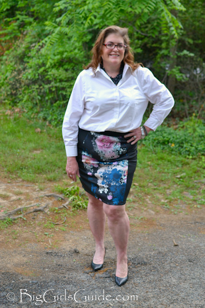 Plus size women for Tucked in shirt plus size
