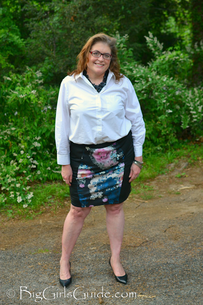 How to wear Plus Size Pencil Skirt