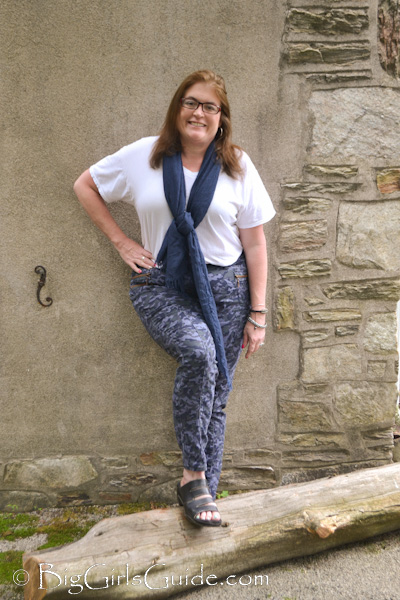 5 Tips How To Wear Plus Size Casual Camo Pants