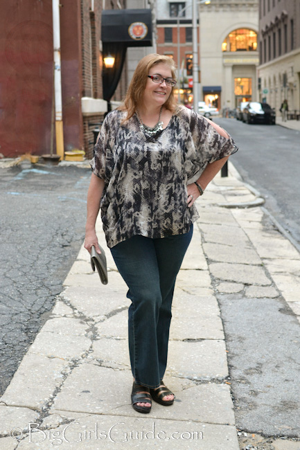 Plus Size CushieB Review : Luxury Plus size Clothing for the over 40 women fashion. Fall fashion Plus Size Fashion Blogger Sherry Aikens OOTD